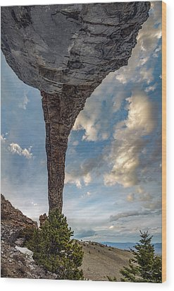 Wood Print featuring the photograph Natural Arch 2 by Leland D Howard