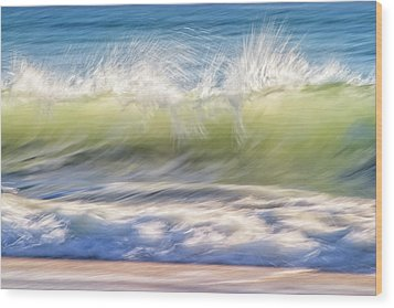 Wood Print featuring the photograph Natural Chaos, Quinns Beach by Dave Catley