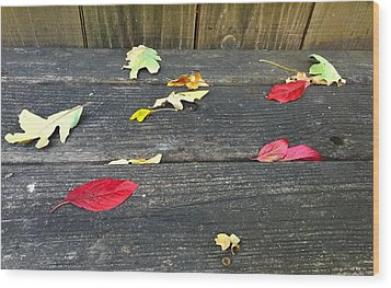 Natural Fall Wood Print