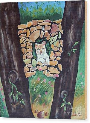 Natural Home Wood Print