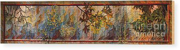 Wood Print featuring the photograph Nature Tapestry 1997 by Padre Art