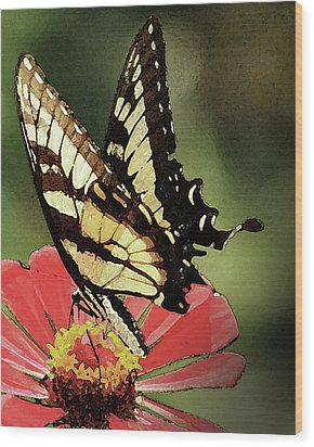Nature's Beauty Wood Print by Kim Henderson