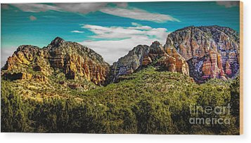 Natures Paintbrush Wood Print by Jon Burch Photography