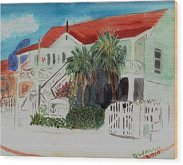 Nautical Museum Georgetown Wood Print by Donna Walsh