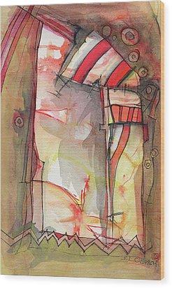 Nautical Mystery Wood Print by Sandra Church
