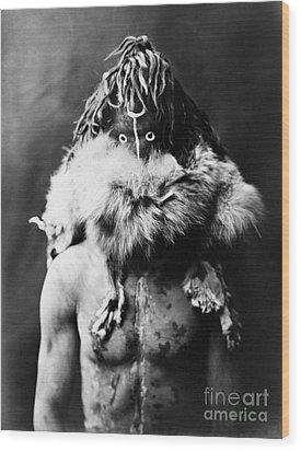Navajo Mask, C1905 Wood Print by Granger