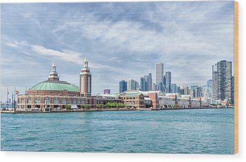 Navy Pier - Chicago Wood Print