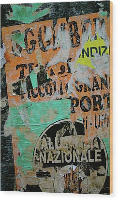 Nazionale Wood Print by Jason Wolters