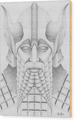 Nebuchadezzar Wood Print by Curtiss Shaffer