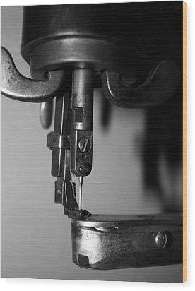 Needle Wood Print by Gina  Zhidov