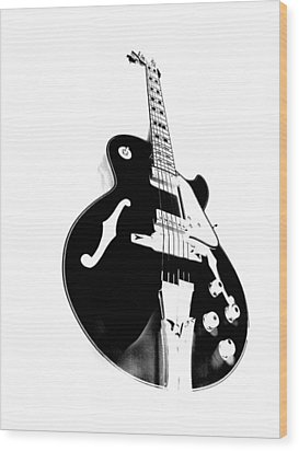 Negative Space Wood Print by Donna Blackhall