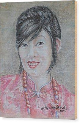 Nepal Girl 1 Wood Print