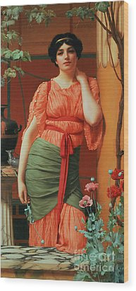 Nerissa Wood Print by John William Godward