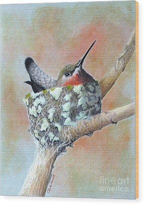 Nesting Anna Wood Print