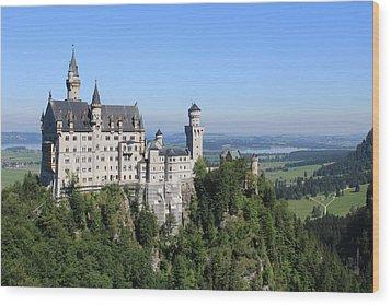 Neuschwastein Castle Wood Print by Michael  Kenney