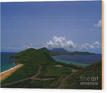 Wood Print featuring the photograph Nevis II by Louise Fahy