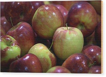 New Apples Wood Print by Joseph Skompski
