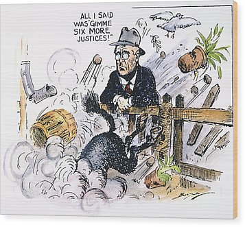 New Deal: Supreme Court Wood Print by Granger