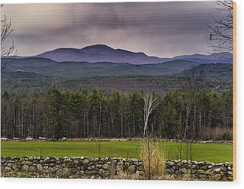 Wood Print featuring the photograph New England Spring In Oil by Mark Myhaver