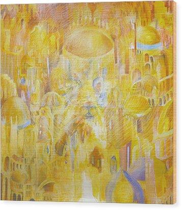 New Jerusalem Wood Print by Beka Burns