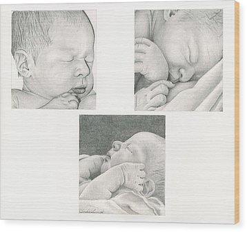New Life Wood Print by Linda Bissett