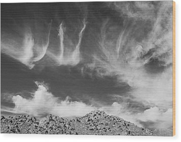New Mexico Sky Wood Print