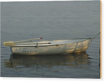 New Oars Wood Print by Ron Read
