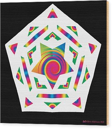 New Star 2a Wood Print