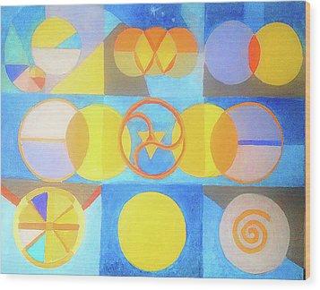 Geometrica 1 Wood Print