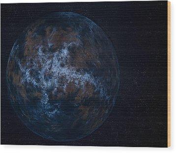 Extrasolar Planet Wood Print