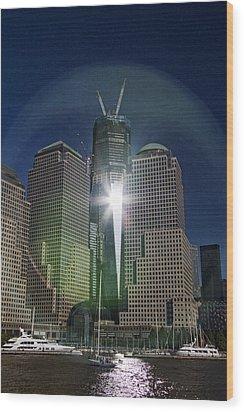 New World Trade Center Wood Print by David Smith