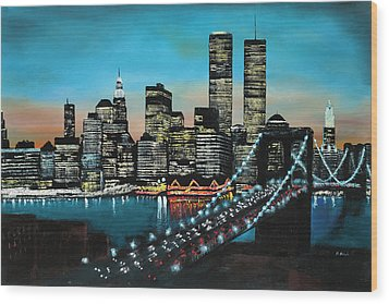 New York 910 Wood Print