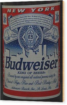 New York Bud Wood Print