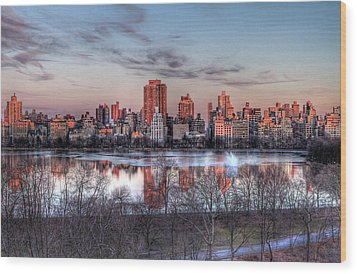 New York Spring Awakening Wood Print by Ariane Moshayedi