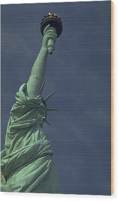 Wood Print featuring the photograph New York by Travel Pics