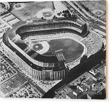 New York: Yankee Stadium Wood Print by Granger