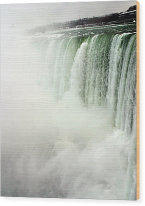 Niagara Falls 4 Wood Print by Anthony Jones