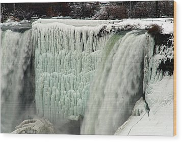 Niagara Falls 7 Wood Print by Anthony Jones