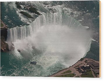 Wood Print featuring the photograph Niagara Falls by JT Lewis