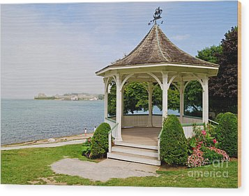 Niagara On The Lake Gazebo 2014 Wood Print