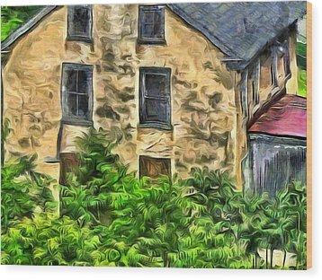 Niccolo Wood Print by Trish Tritz