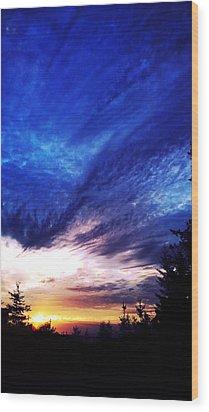 Night Clouds IIi Wood Print