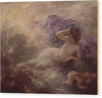 Night Wood Print by Ignace Henri Jean Fantin Latour