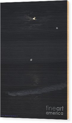 Night Moves 8 Wood Print