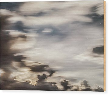 Wood Print featuring the photograph Night Sky 2 by Leland D Howard