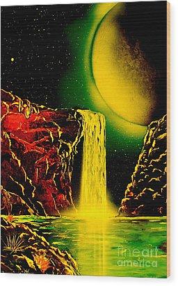 Nightfalls 4679 Wood Print