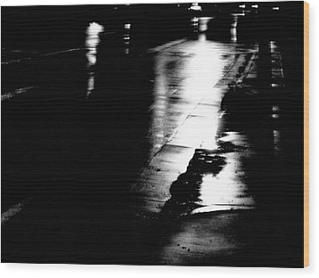 Nightshot 2 Wood Print by Jeff DOttavio