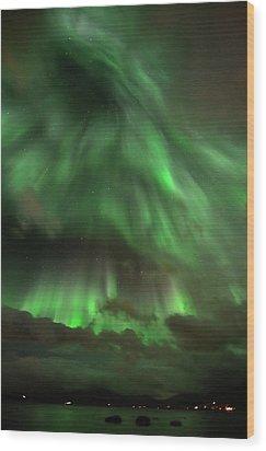Nightsky Wood Print by John Hemmingsen