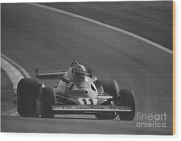 Niki Lauda. 1977 French Grand Prix Wood Print