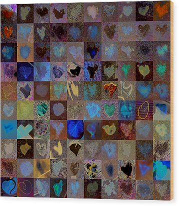 Nine Hundred Series Wood Print by Boy Sees Hearts